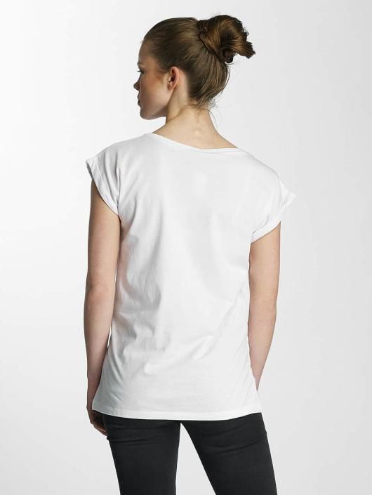 Merchcode T-skjorter Ladies Banksy hvit