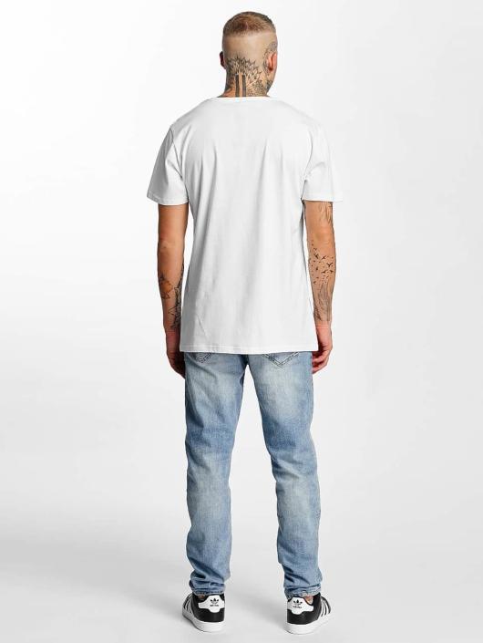 Merchcode T-skjorter Rocky Break hvit