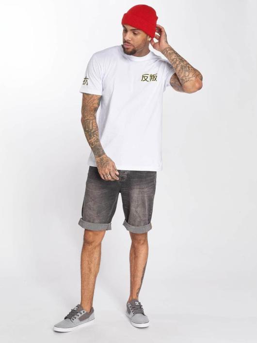 Merchcode T-skjorter Asia Cat hvit