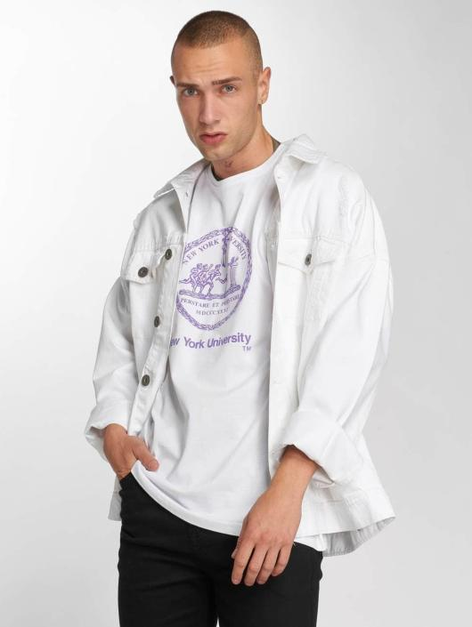 Merchcode T-skjorter Nyu hvit