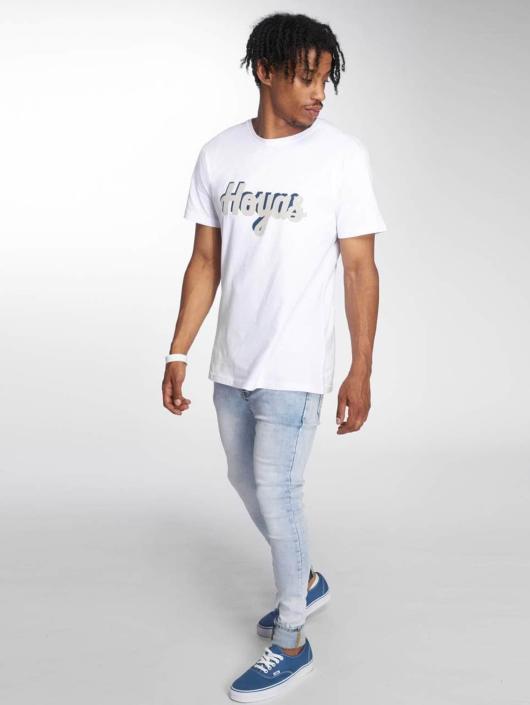 Merchcode T-skjorter Georgetown Hoyas hvit