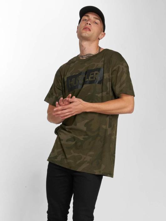 Merchcode T-skjorter Hustler Logo Camo kamuflasje