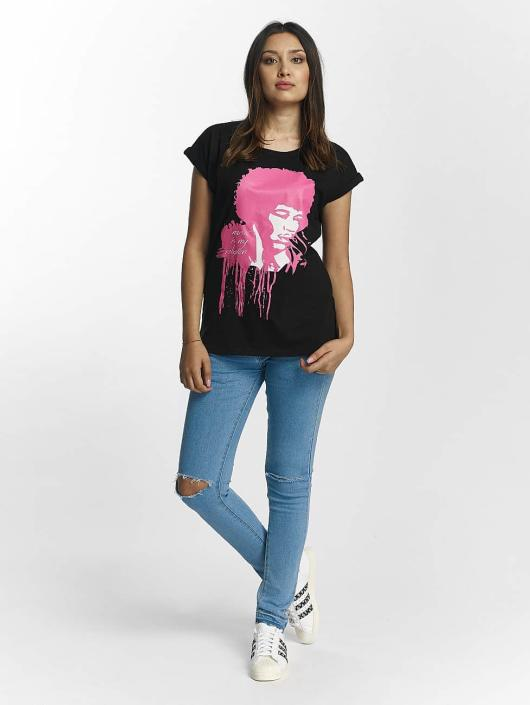 Merchcode T-skjorter Jimi Hendrix Music Is My Religion svart