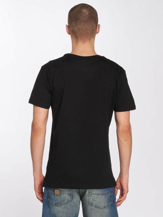 Merchcode T-skjorter Hustler Embroidery svart