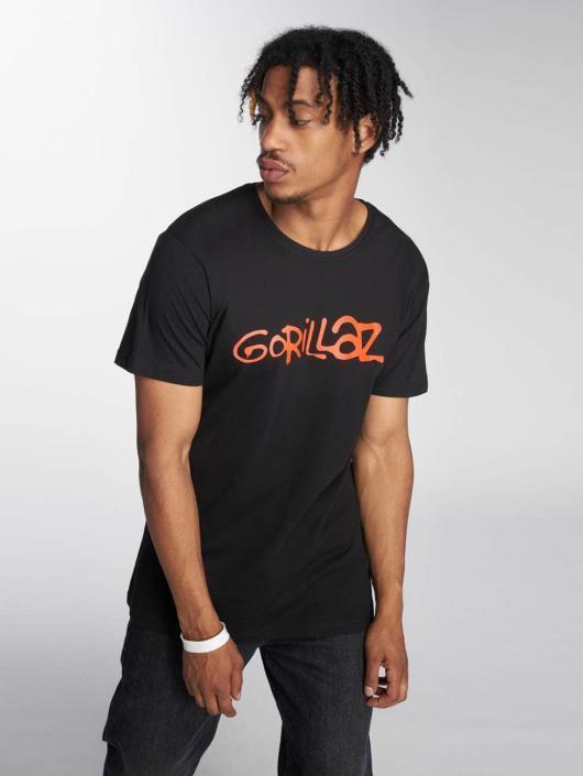 Merchcode T-skjorter Gorillaz Logo svart