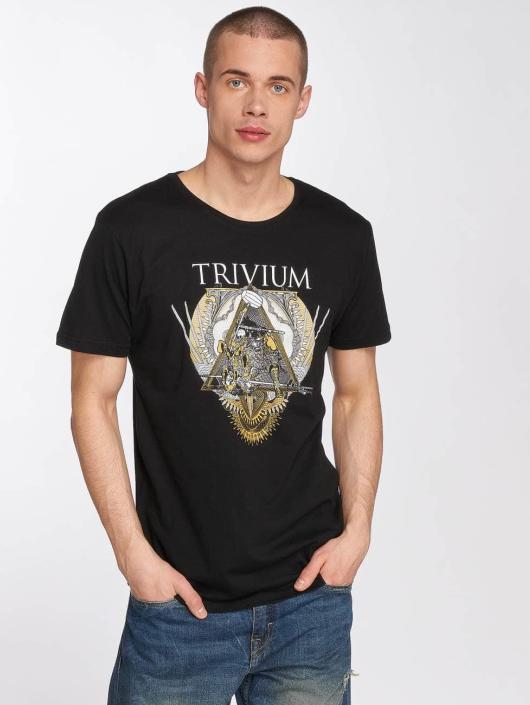 Merchcode Tričká Trivium Triangular War èierna