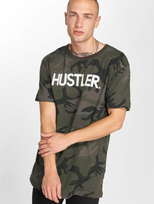 Merchcode Tričká Hustler Logo Camo maskáèová