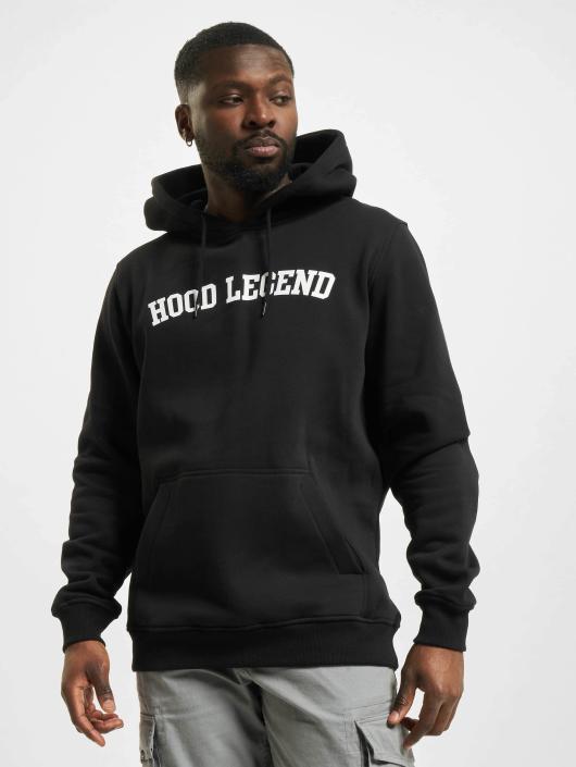 Mister Tee Bluzy z kapturem Hood Legend czarny