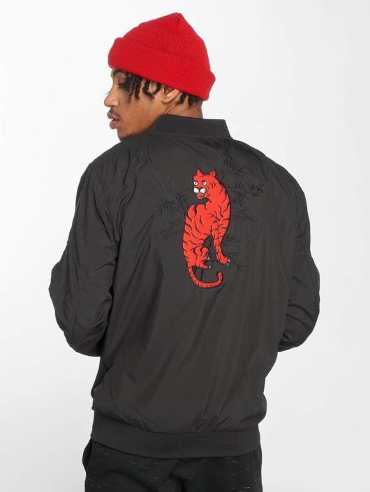 Mister Tee Bomber jacket Tiger black