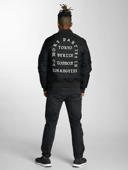 Mister Tee Bomberjacke LA Bomber schwarz
