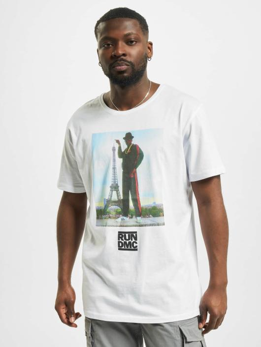 Mister Tee Camiseta Run DMC Paris blanco