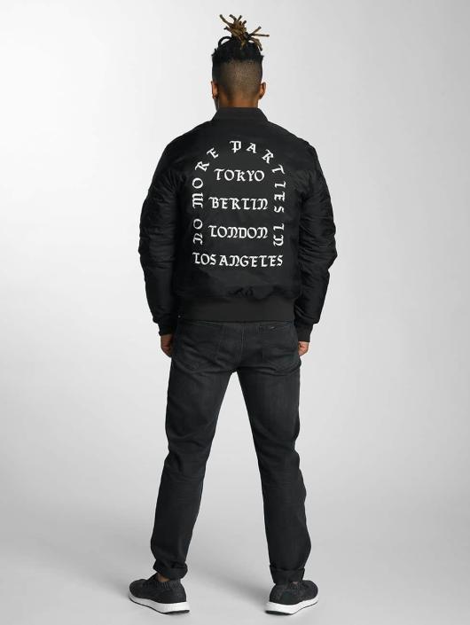Mister Tee Cazadora bomber LA Bomber negro