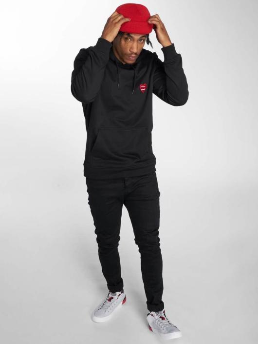 Mister Tee Hoodie Heart black