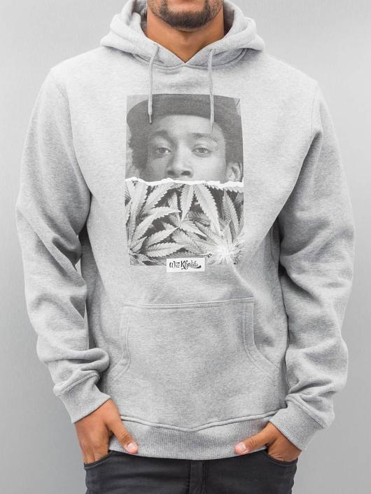 Mister Tee Hoodie Wiz Khalifa Half Face gray