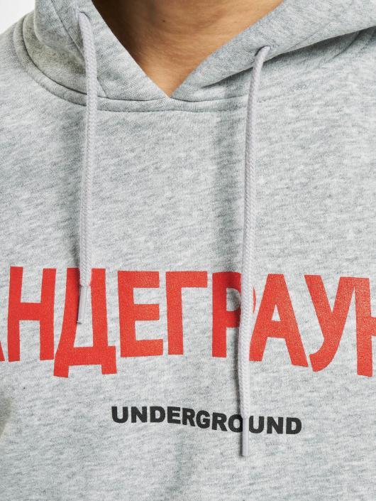 Mister Tee Hoodie Underground gray