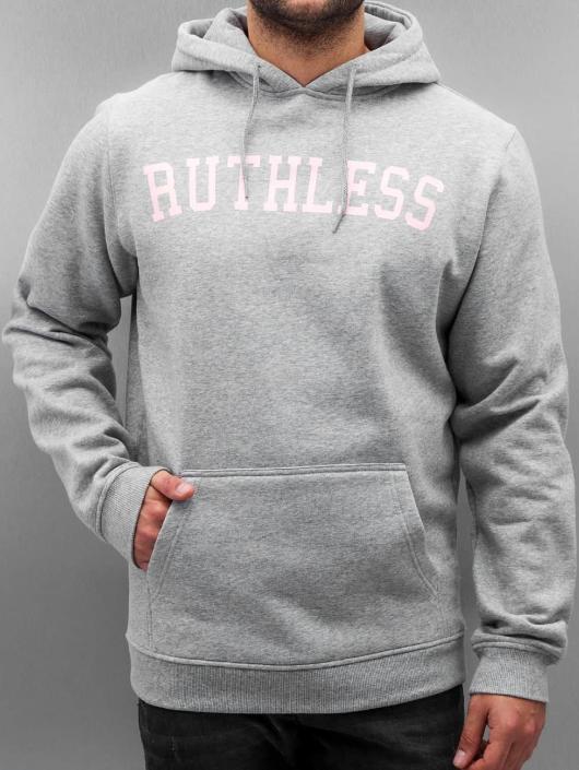 Mister Tee Hoody Ruthless grau