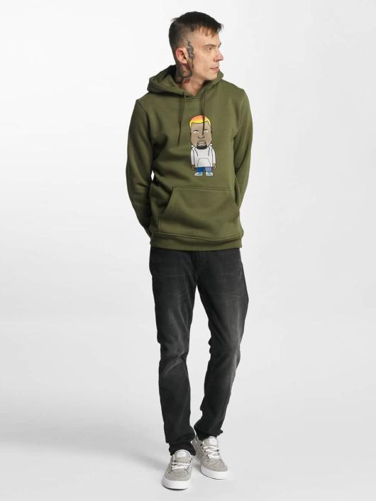 Mister Tee Hoody Name One olive
