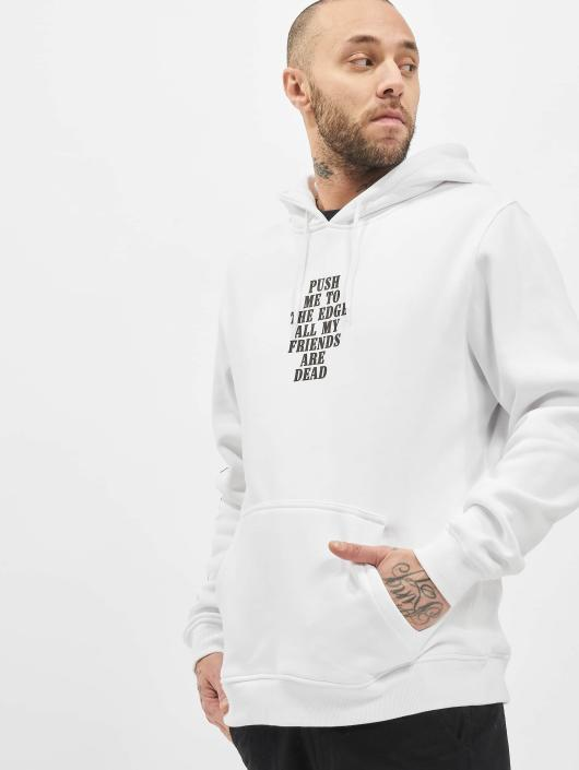 Mister Tee Hoody Push Me wit