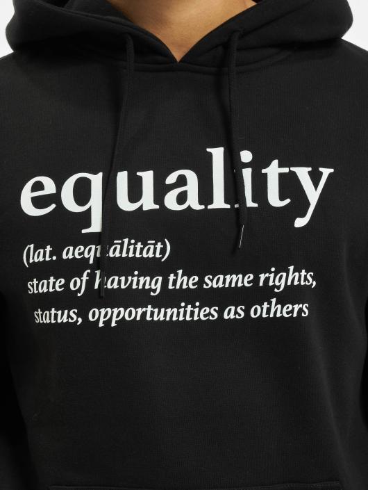 Mister Tee Hoody Equality zwart