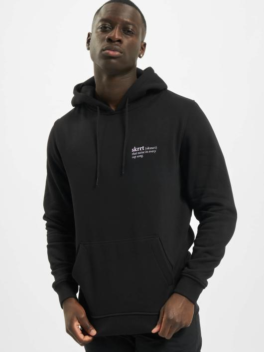 Mister Tee Hoody That Noise zwart