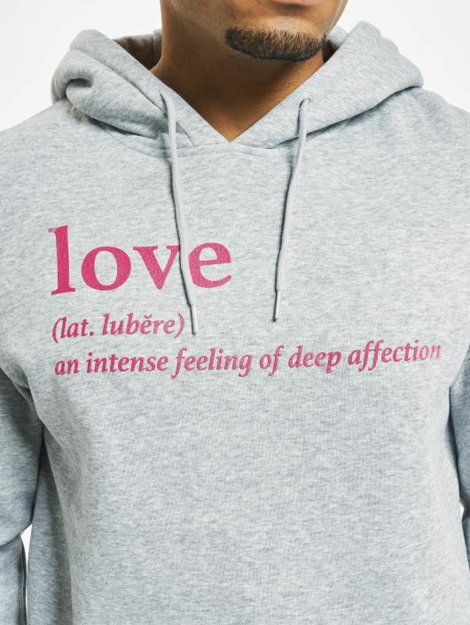 Mister Tee Hupparit Love Definition harmaa