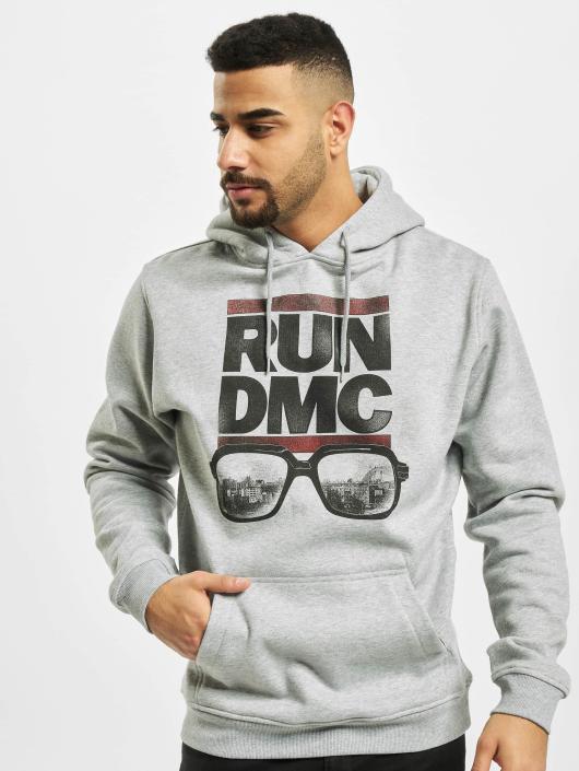 Mister Tee Mikiny Run DMC City Glasses šedá