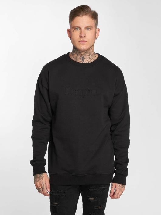 Mister Tee Pullover Embossed Compton black