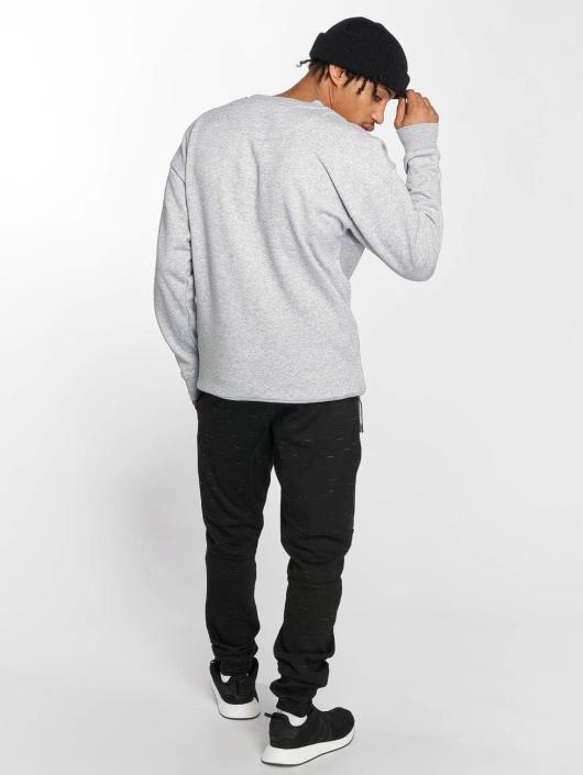 Mister Tee Pullover Embossed NASA Worm gray