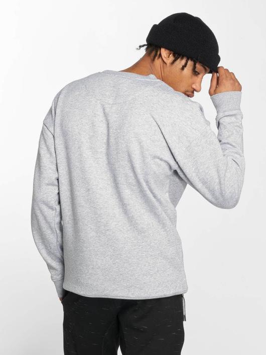 Mister Tee Pullover Embossed NASA Worm grey