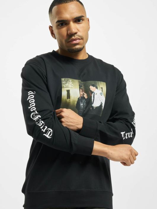 Mister Tee Pulóvre Tupac Trust Nobody èierna