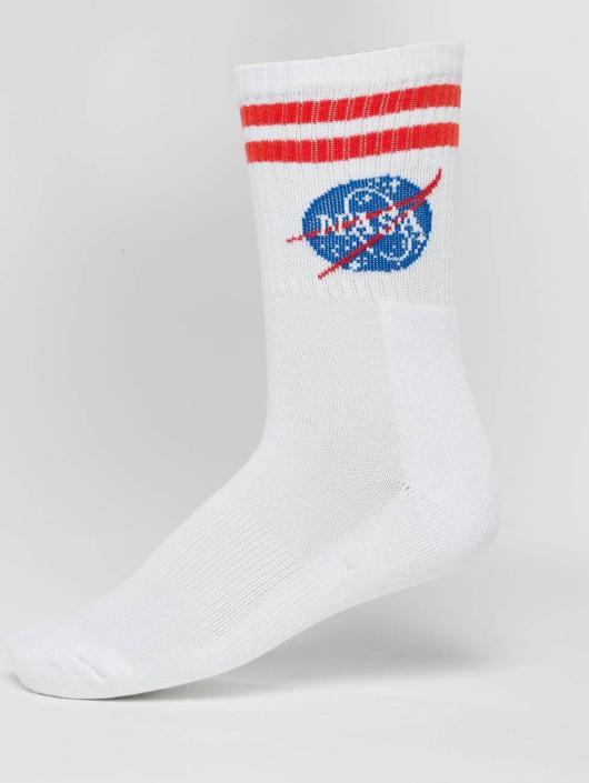 Mister Tee Sokken NASA wit