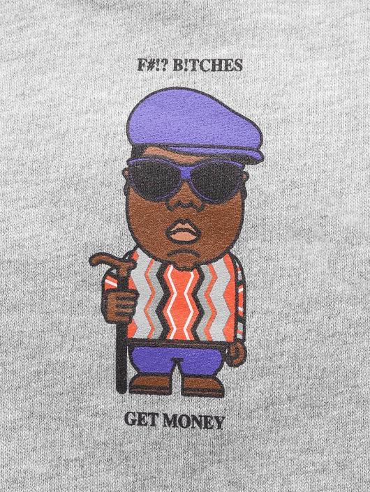 Mister Tee Sudadera Get Money gris