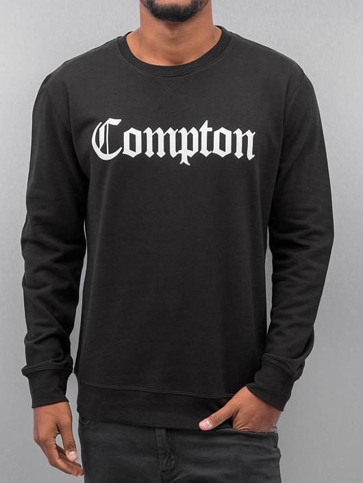 238874 Sweat amp; Mister Noir Tee Compton Homme Pull wqn0gR8