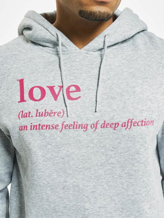 Mister Tee Sweat capuche Love Definition gris