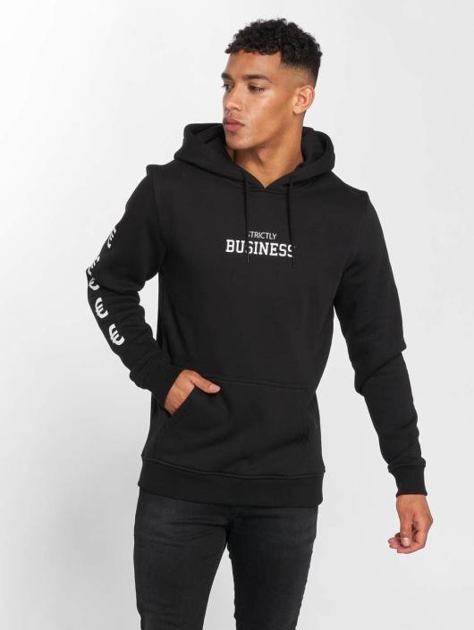 Mister Tee Sweat capuche Strictly Business noir