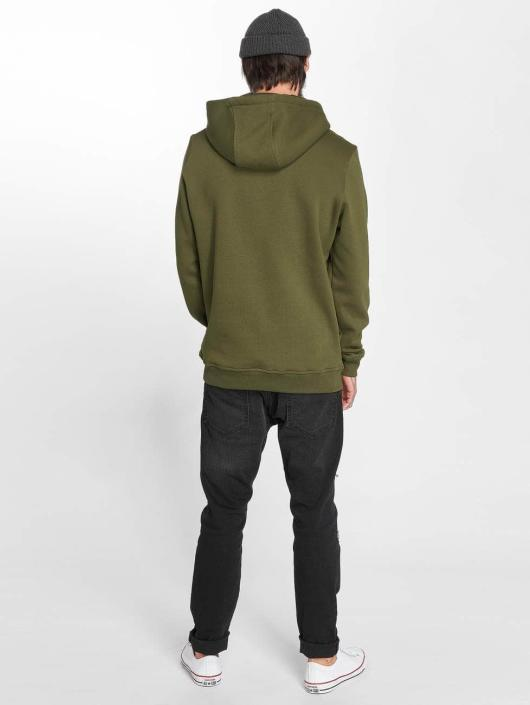 Mister Tee Sweat capuche Pray olive