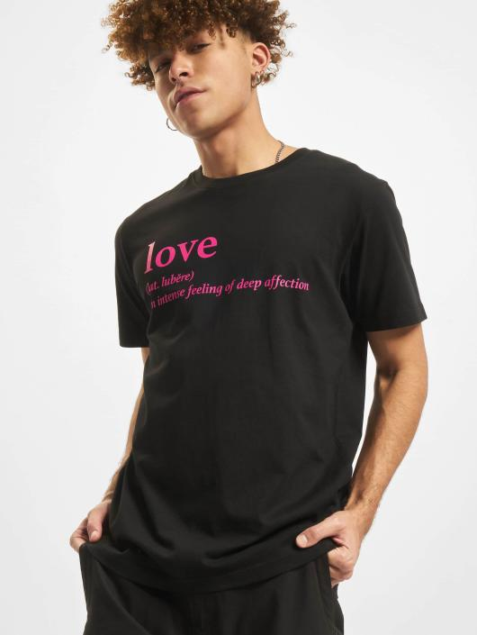 Mister Tee T-paidat Love Definition musta