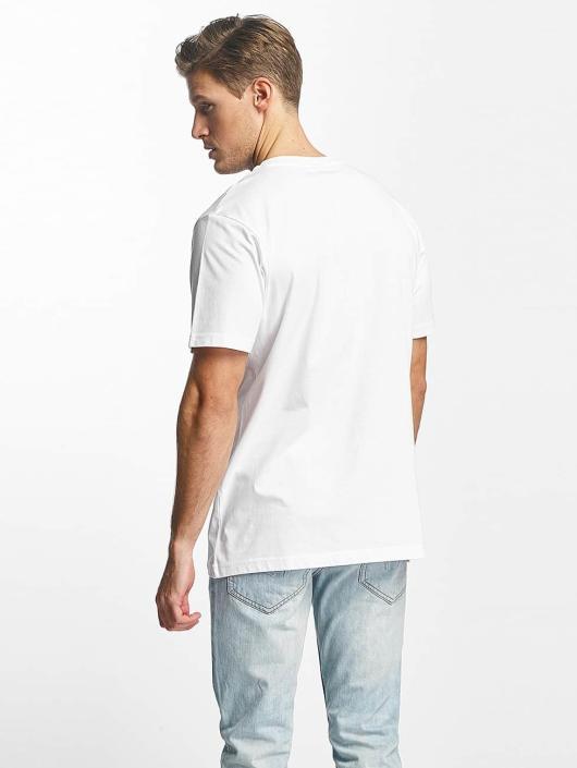Mister Tee T-paidat Love Vibes Only valkoinen