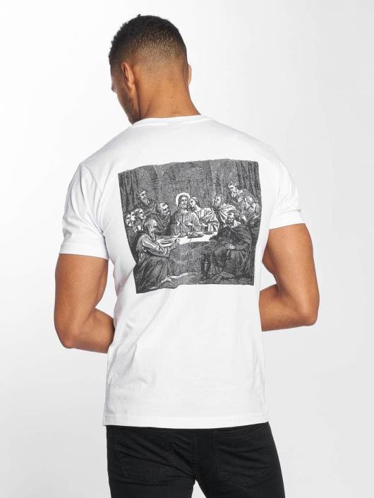 Mister Tee T-paidat Clique valkoinen