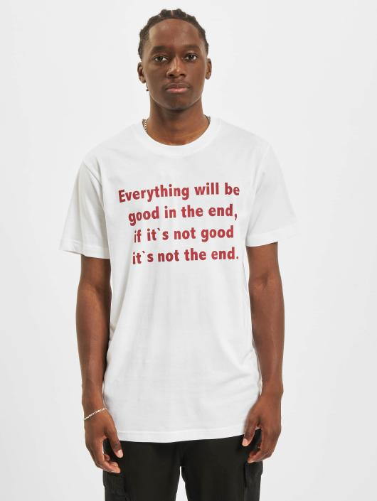 Mister Tee T-paidat Everything Will Be Good valkoinen
