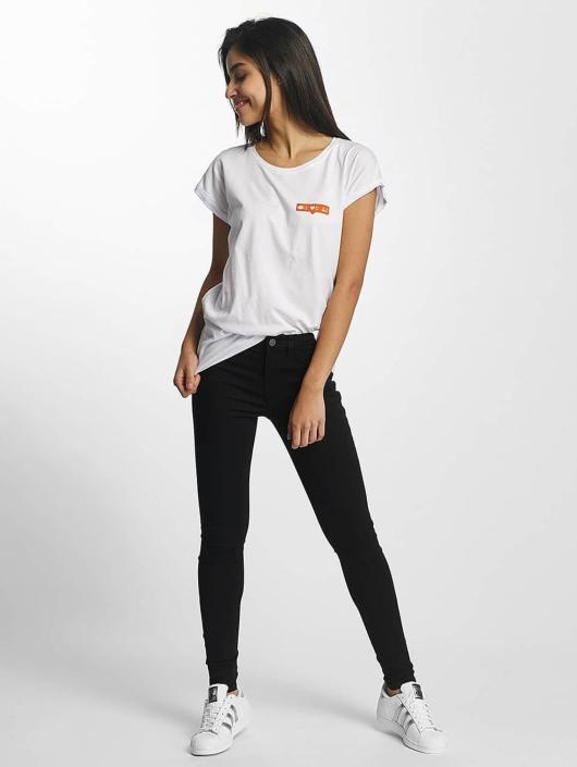Mister Tee T-shirt Zero Likes bianco