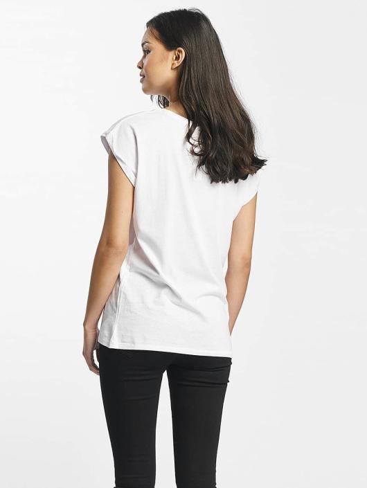 Mister Tee T-shirt More Love bianco