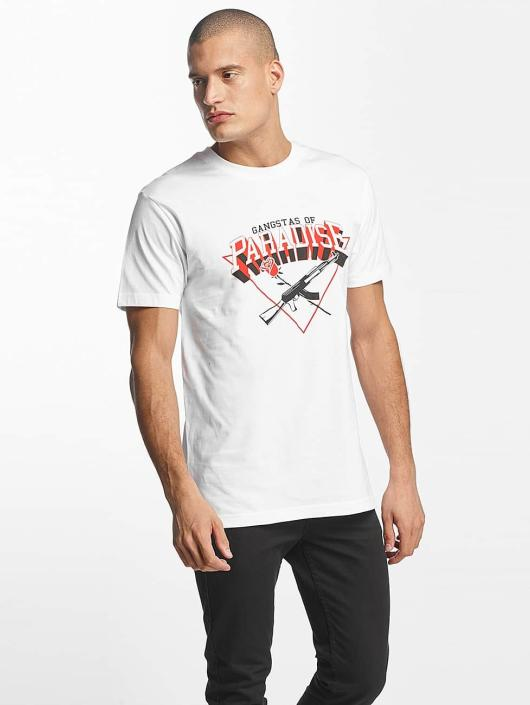 Mister Tee T-shirt Gangstas of Paradise bianco