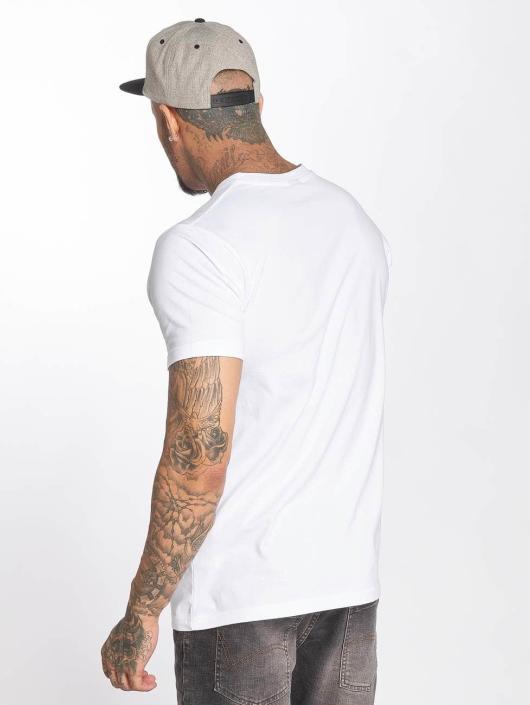 Mister Tee T-shirt Pump bianco
