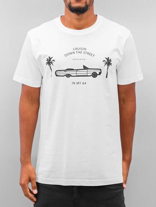 Mister Tee T-Shirt Cruisin blanc