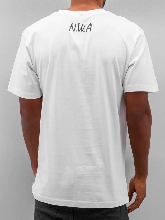 Mister Tee T-Shirt N.W.A blanc