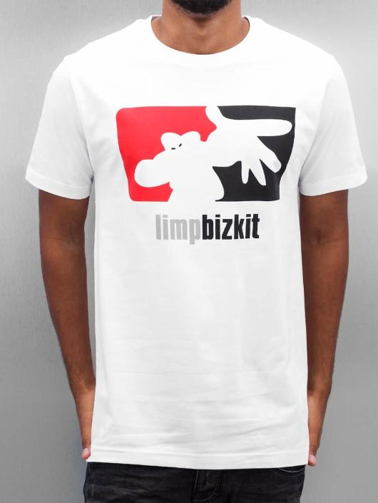Mister Tee T-Shirt Limp Bizkit Big Logo blanc