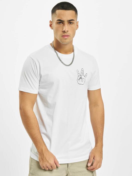 Mister Tee T-Shirt Westside blanc