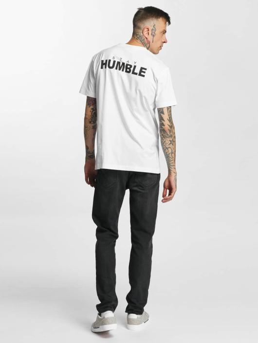 Mister Tee T-Shirt Humble blanc