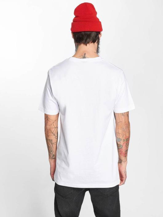Mister Tee T-Shirt LA Rose blanc